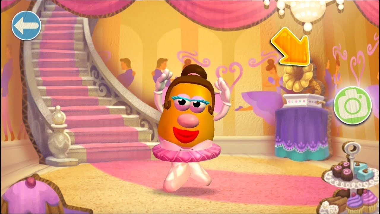 Mrs Potato Head Create And Play Ballerina Dance Class