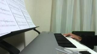 12曲目はちょっと趣向を変えてピアノ譜を弾いてみました。 Not yetはAKB...