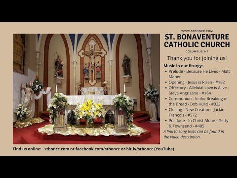 April 26, 2020 - St. Bonaventure - Columbus, NE - Weekend Mass