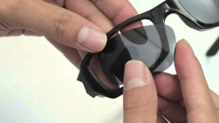 Oakley Fives Squared Sunglasses Lenses Replacement(Installation/Removal)