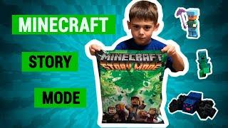 LEGO Minecraft Story Mode | Review | Розпакування та Огляд