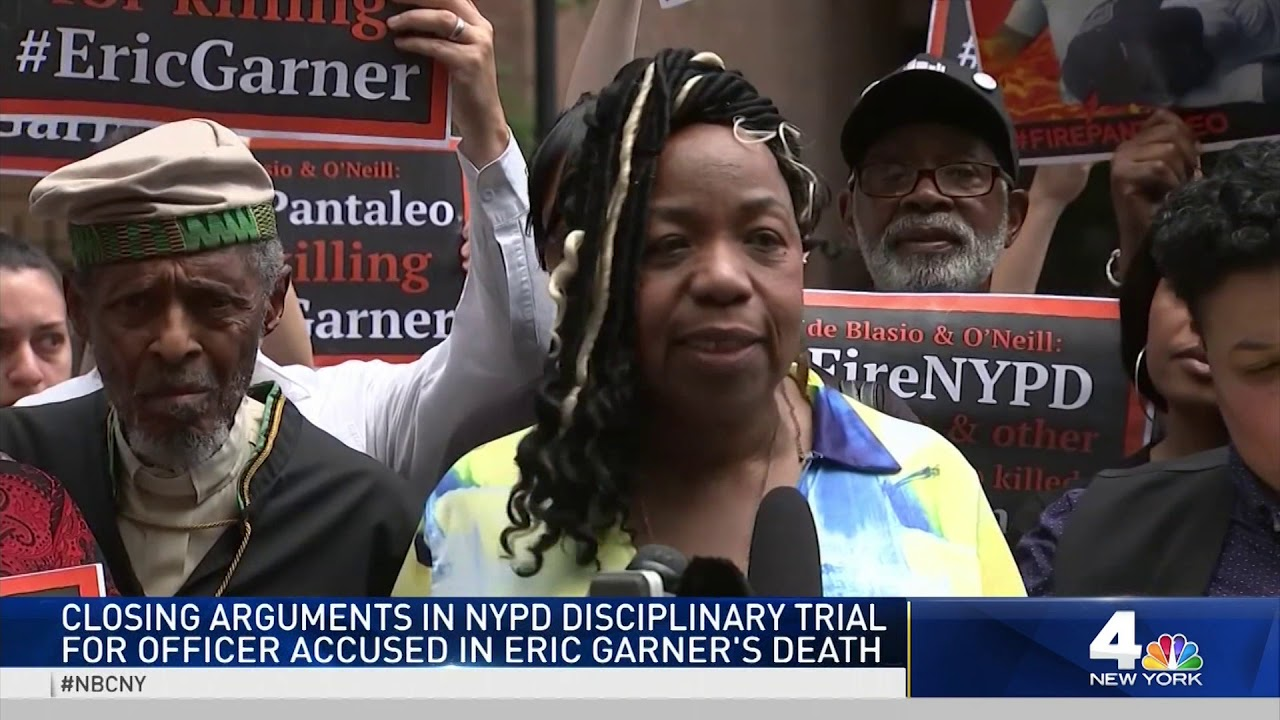 Defense Calls Eric Garner 'A Ticking Time Bomb' in NYPD Trial Closings