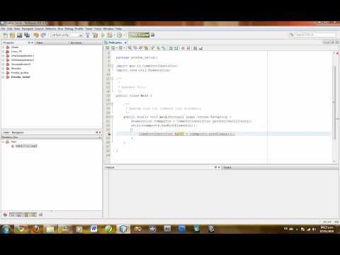 Usar Puerto Serial parte 1 (Java)
