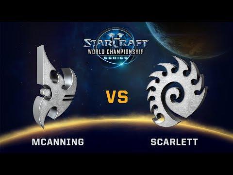 StarCraft 2 - MCanning vs. Scarlett (PvZ) - WCS Valencia Challenger NA - Playoff Ro16