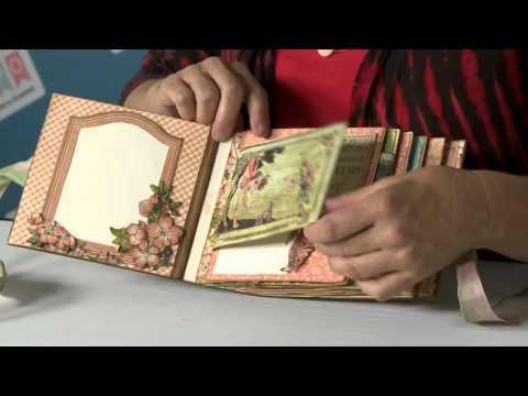 Stamp & Scrapbook Expo Workshop: Pinecone Press G45 Spread Your Wings Album