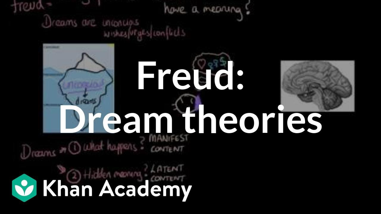 Dream theories Freud, activation synthesis hypothesis (video) | Khan