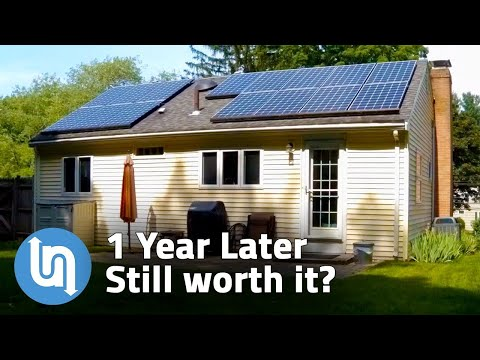 Solar Panels For Home – 1 Year Later