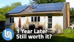 Solar Panels For Home - 1 Year Later