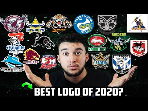 ALL 16 NRL 2020 Team Logos Ranked By An Unbiased American NFL Fan NepDaStep   National Rugby League