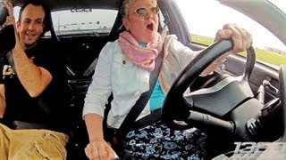 Mom DRIVES the 900hp 3Dx Evo!!!