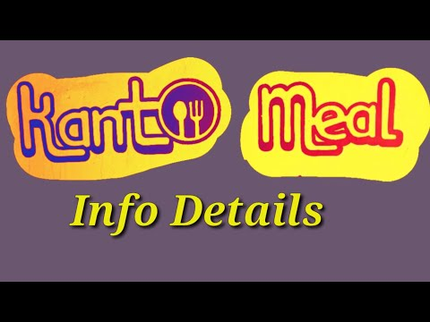 Kanto Meal Info Details Youtube