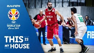 India v Syria - Full Game - FIBA Basketball World Cup 2019 - Asian Qualifiers