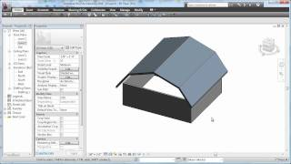Cadclip - Revit 2011 Roof  Basics  05 Gambrel
