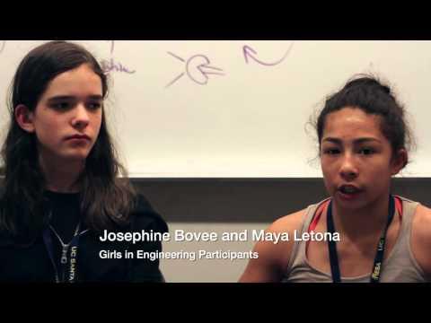 Baskin School of Engineering: Girls in Engineering