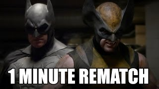 BATMAN vs WOLVERINE - FUN REMATCH - Super Power Beat Down
