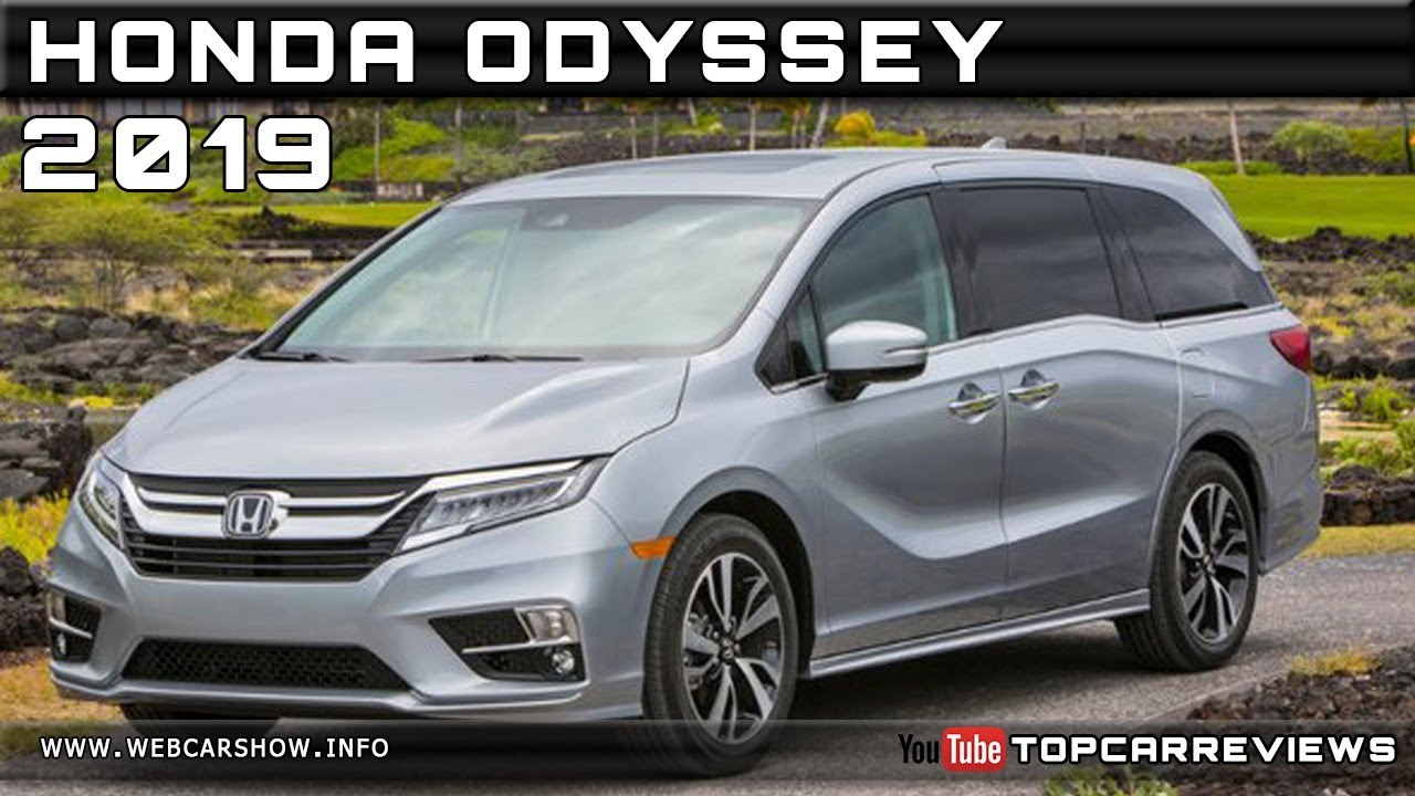 2019 Honda Odyssey Review Rendered Price Specs Release Date Youtube