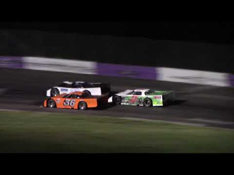 Outlaw Late Model Feature South Bend Motor Speedway 8-18-2018