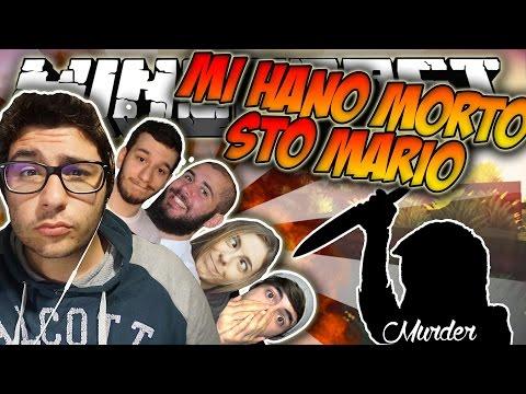 MI HANNO MORTO.. STO MARIO - Minecraft MURDER ITA W/ JacoRollo TheMark TearlessRaptor KeNoia