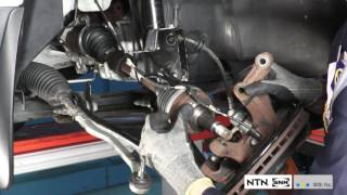 Driveshaft disassembly & installation on the vehicle