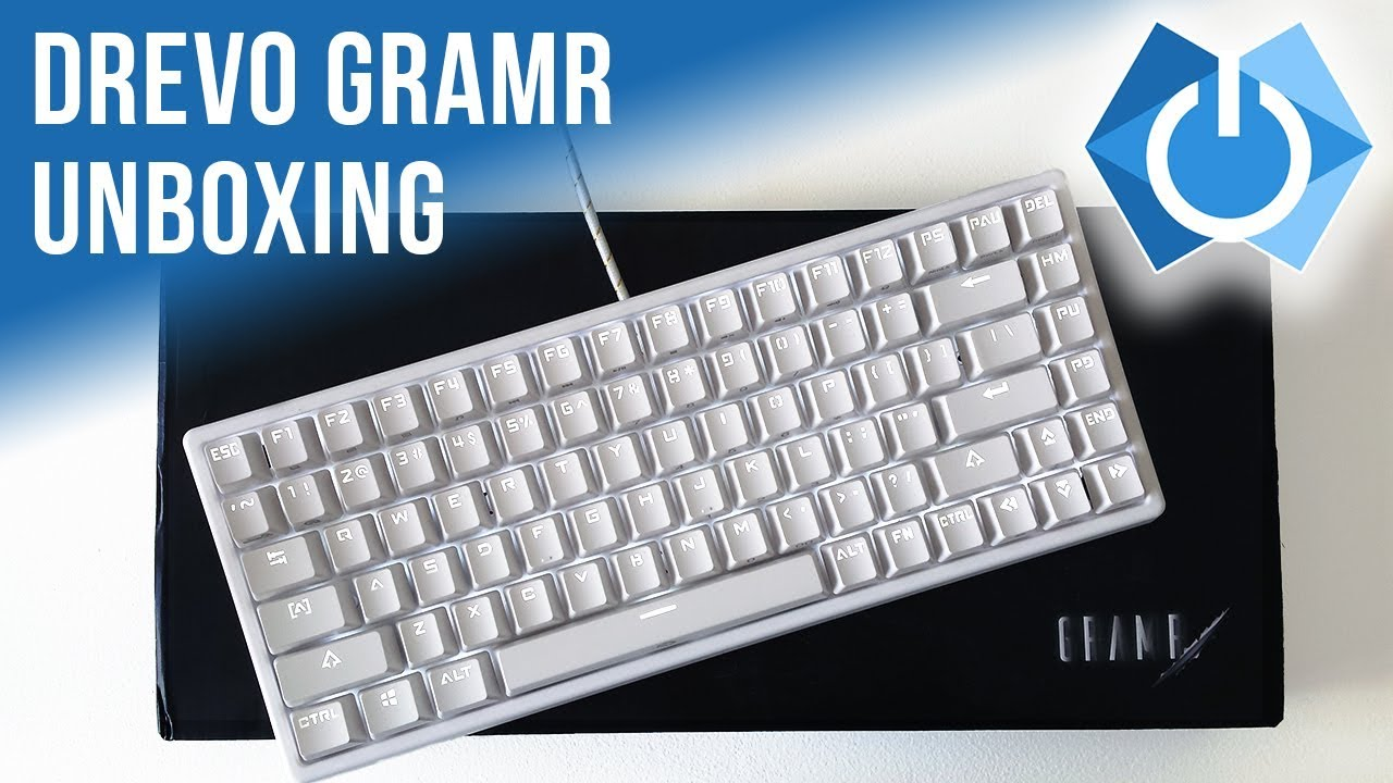 drevo gramr unboxing 84 key mechanical keyboard youtube