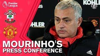 Jose Mourinho's Press Conference | Southampton v Manchester United | Premier League