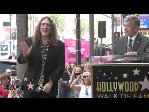 Weird Al Yankovic - Hollywood Walk of Fame Ceremony - Live Stream