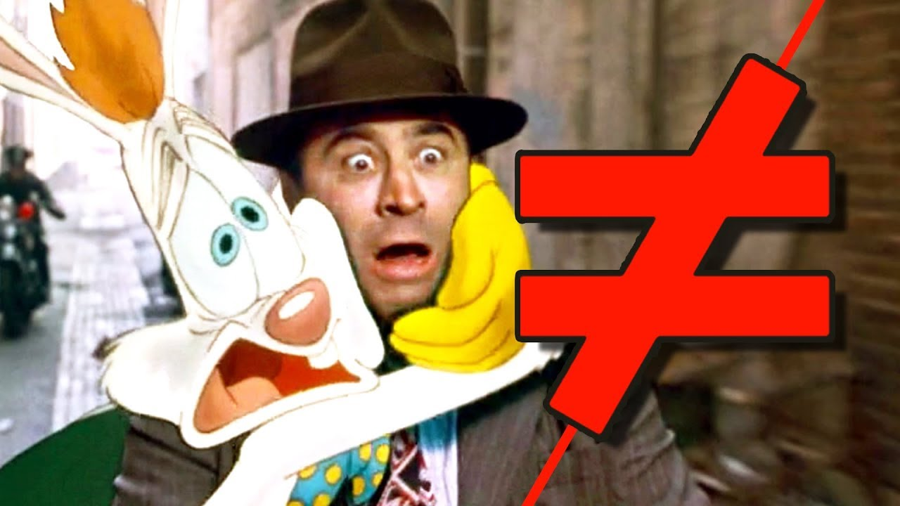 who framed roger rabbit whats the difference youtube