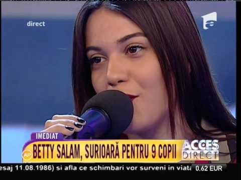Betty, fiica lui Florin Salam: