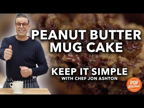 Quick & Easy Peanut Butter Mug Cake | Keep It Simple