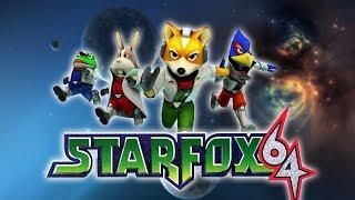 Star Fox 64 (Wii Virtual Console) LIVE!!!!!