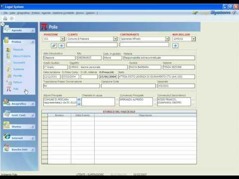 Legal System - Integrazione con PolisWeb
