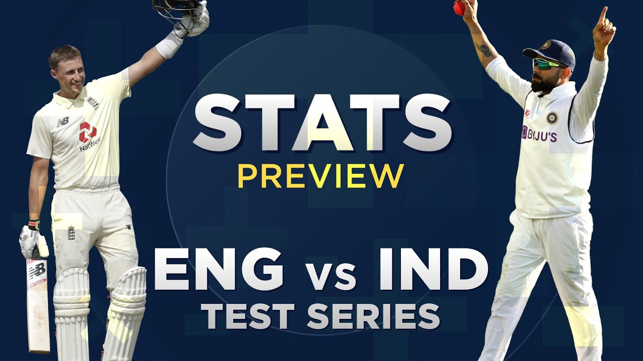 England v India, Test series: Stats Preview