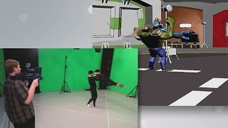 QUT: learn virtual production in our animation courses
