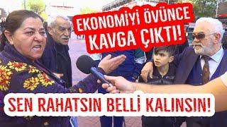 Ekonomi Kötü Demek de Suç Sayılacak ! Halka Sorduk Kavga Çıktı!