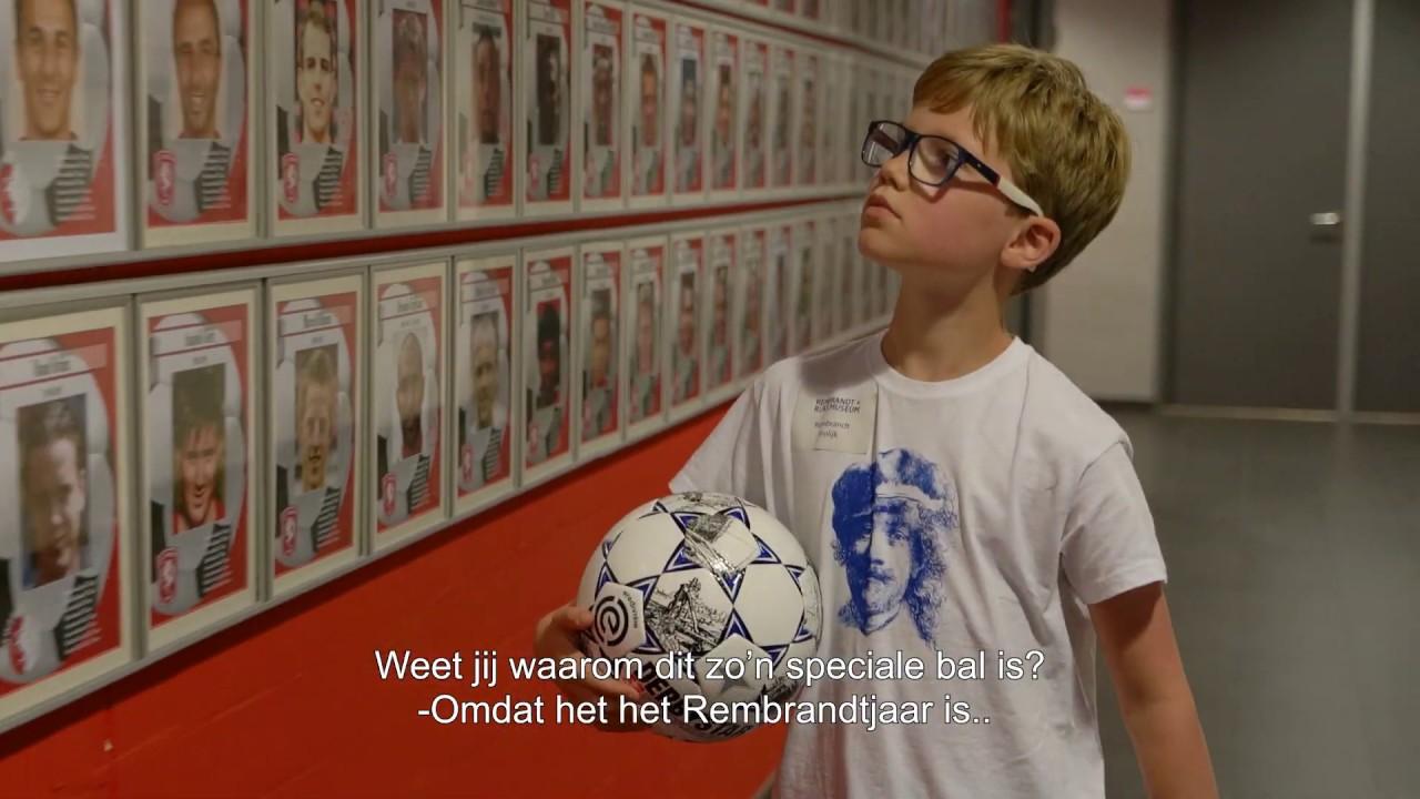 Rijksmuseum: Eredivisiebal 'de Rembrandt'