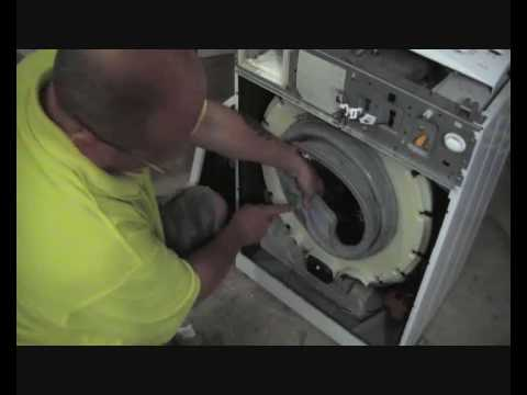How To Replace A Door Seal Or Gasket On A Washing Machine