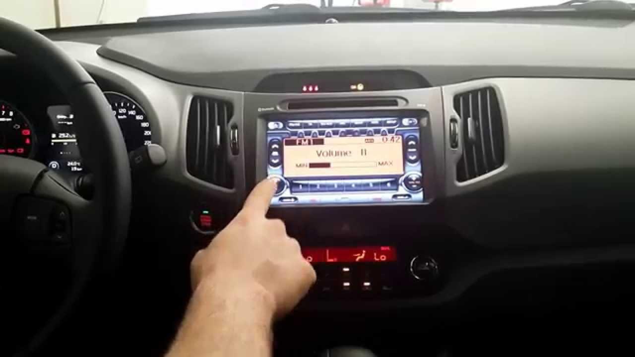 Boson Multimedia System For Kia Sportage Model 2014