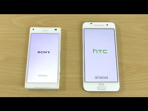 Sony Xperia Z5 Compact VS HTC One A9 - Speed Comparison!