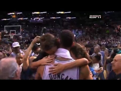 The San Antonio Spurs are the 2014 NBA CHAMPIONS [final seconds]