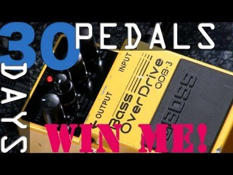Boss ODB-3 Bass Overdrive - 30 Days, 30 Pedals - WIN!