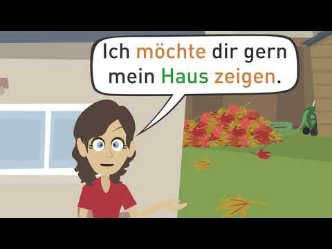 Deutsch lernen | Wortschatz Haus und Möbel