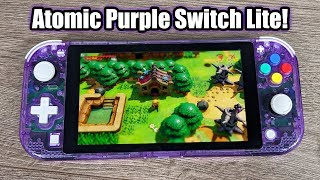 DIY Clear Atomic Purple Nintendo Switch Lite!
