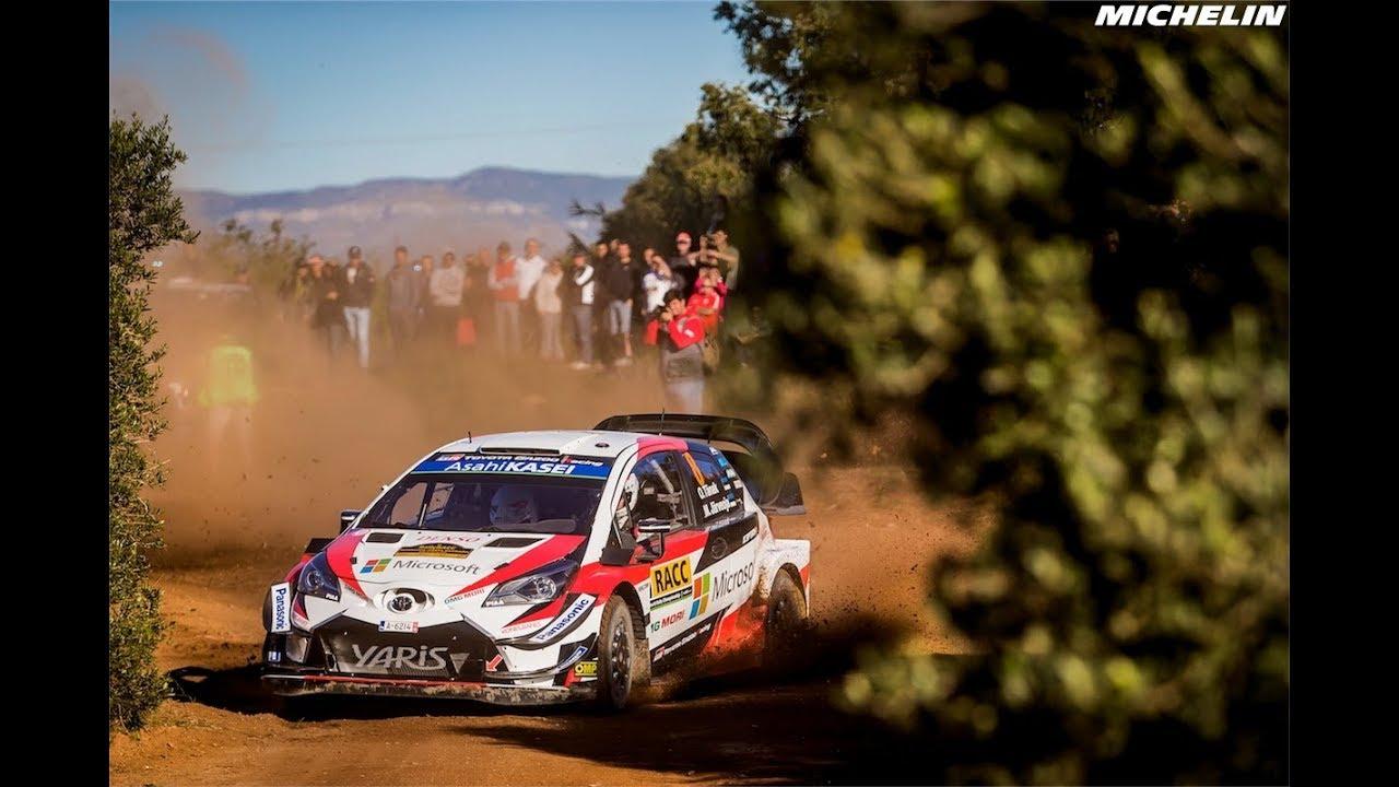 Leg 1 - Top Moments - 2018 WRC RallyRACC Catalunya - Rally de España - Michelin Motorsport