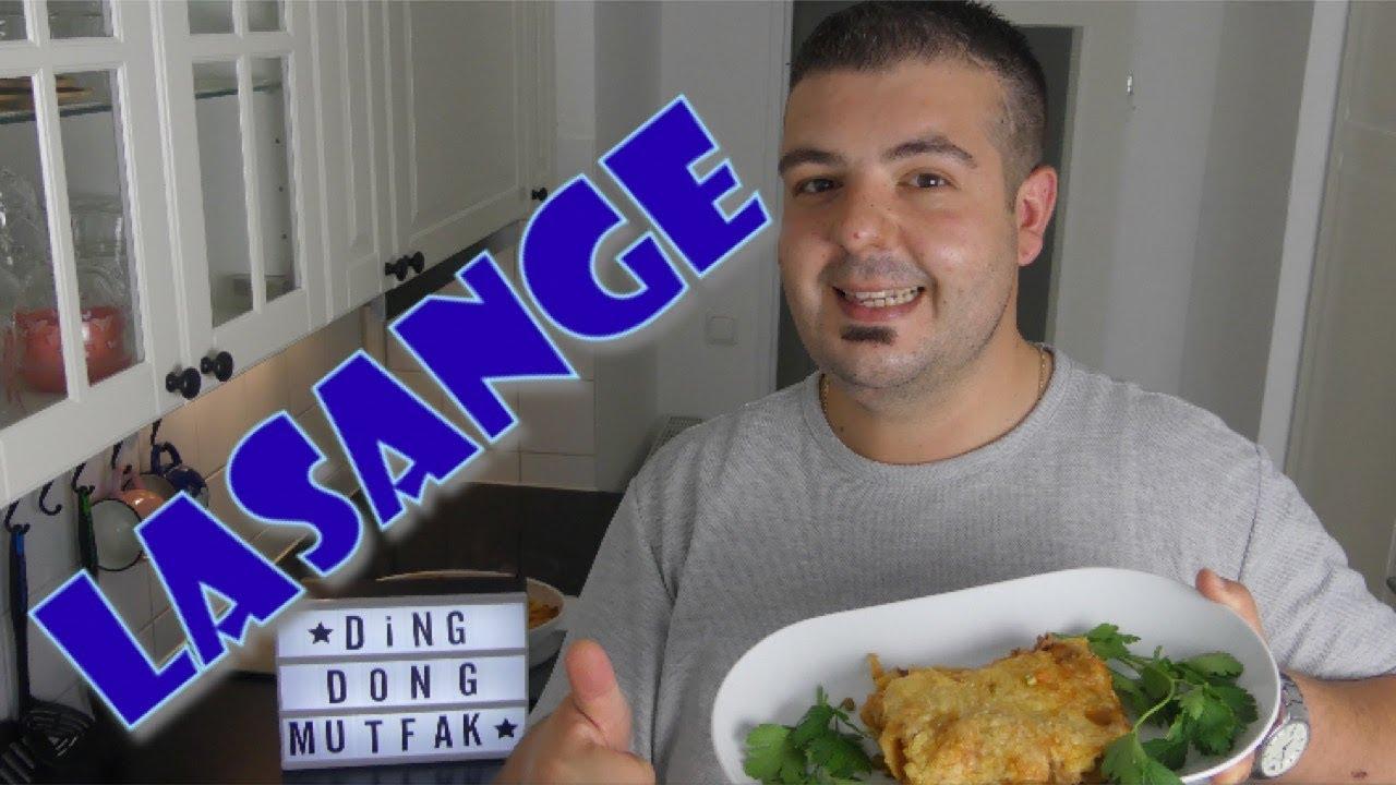 Lasange | Yemek tarifi | İtalyan mutfağı | Ding Dong Mutfağ