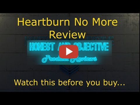 Heartburn No More Review   ▶ Can You Permanently Stop Heartburn Naturally? ◀