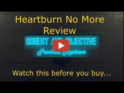 Heartburn No More Review   ▶ Can You Permanently Stop Heartburn Naturally? ◀