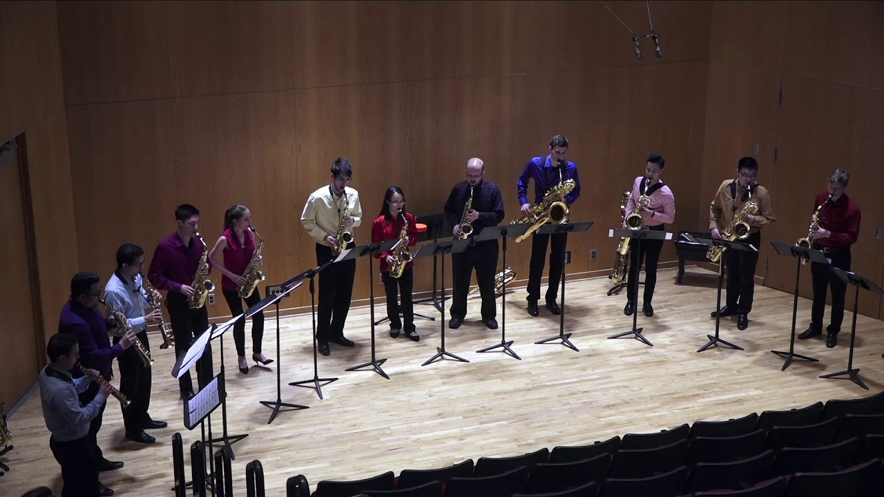 2019 NASA Region 3 Iowa Saxophonists' Workshop Featured Concert