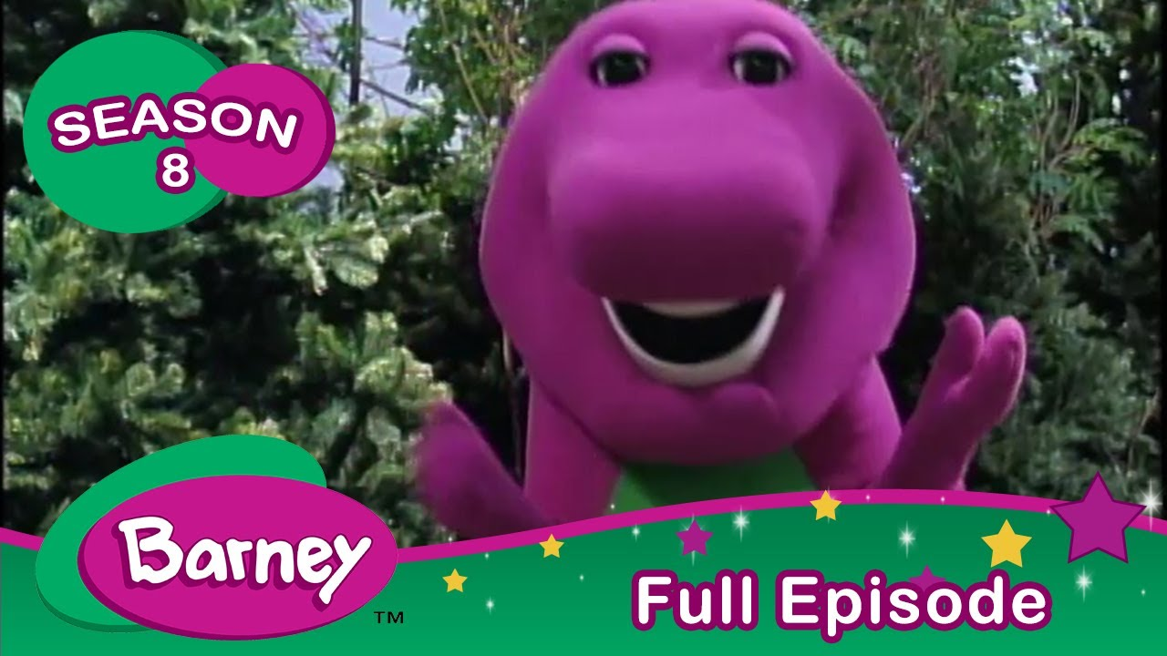 Barney   At Home In The Park   Full Episode   Season 8