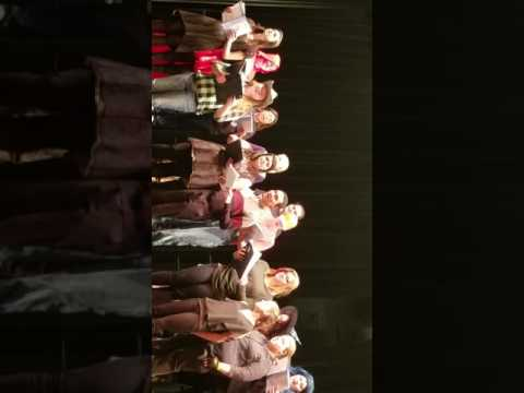 East Hickman High School Choir Halloween performance