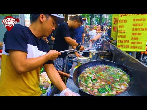 Hai Anh Đầu Bếp Bỏ Nhà Hàng Về Mở Quán Vỉa Hè Nấu Toàn Món Ngon  (Video Không Review)